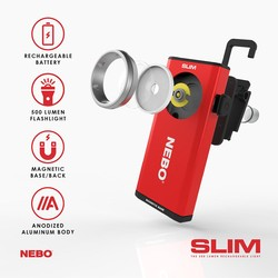 Nebo Slim Rechargeable Flashlight