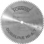 "12"" x 100 tooth 12"" x 80 tooth DURALINE HI-A/T Saw Blade with 5/8"" HOLE"