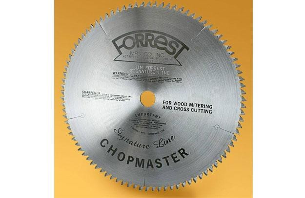 "10""x90T Forrest Signature Line Chopmaster  - $15.00 OFF Sharpening Offer Included"
