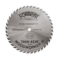 "10""x40T Woodworker II 20mm HOLE 3/32"" Thin Kerf for INCA & Ulmia Table Saws - $15.00 OFF Sharpening Offer Included"