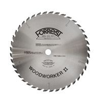 "12""x40T Woodworker II Saw Blade 1/8""K, 5/8"" Hole - $15.00 OFF Sharpening Offer Included"