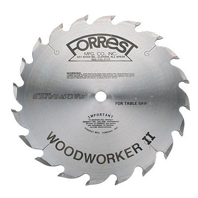 "14""x20T Woodworker II Saw Blade for Fast Rip - $15.00 OFF Sharpening Offer Included"