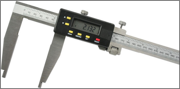 Oshlun 40-Inch Stainless Steel Digital Caliper