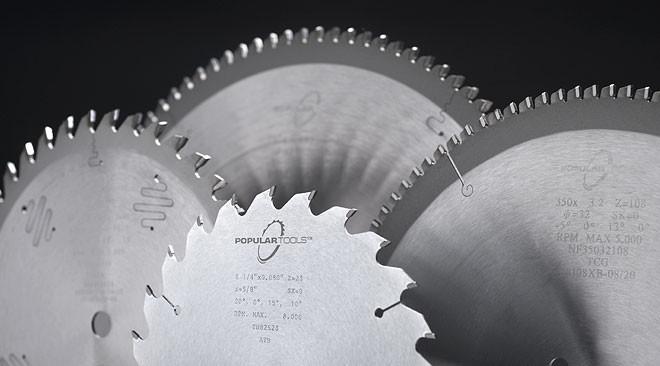 Popular Tools 350mm x 72T General Purpose Blade 30mm, 2+2PH Hole