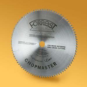 Forrest 12x100T DURALINE Saw Blade TCG - SPECIAL ORDER 8-10 WEEK LEAD TIME