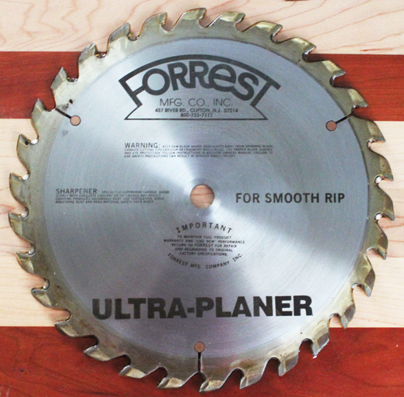 ULTRA-PLANER Saw Blade - 6 to 8 WEEK LEAD TIME