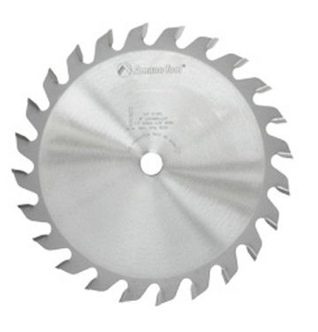 "Amana 8""x24T, 5/8"" Bore GROOVER Blade Cuts 1/4"" Grooves"