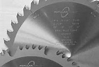 "Popular Tools 8"" x 100T LR, Plastic Cutting Saw Blade"