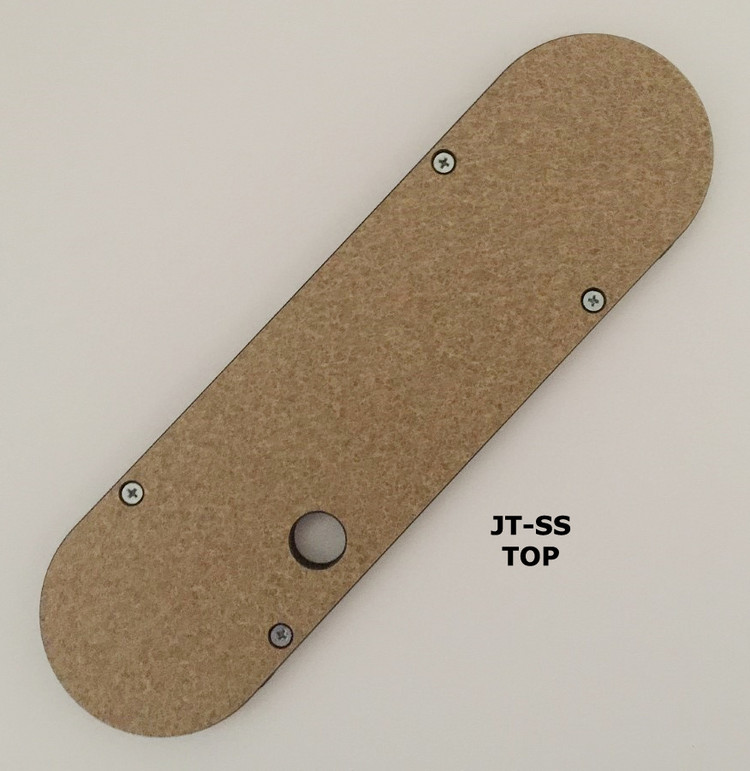 "#JT-SS Leecraft Zero Clearance Table Saw Insert 12-9/16"" x 3-9/16"""