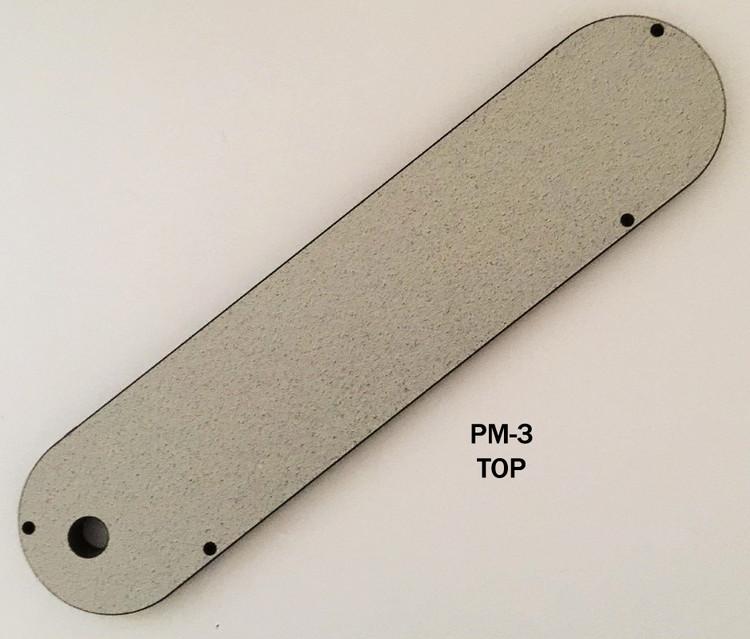 """#PM-3 Leecraft Zero-Clearance Table Saw Insert 17-5/8""""L x 4""""T"""