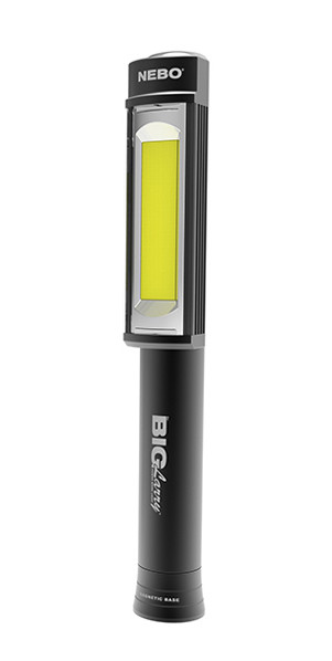 Nebo Big Magnum Larry Flashlight Worklight - BLACK