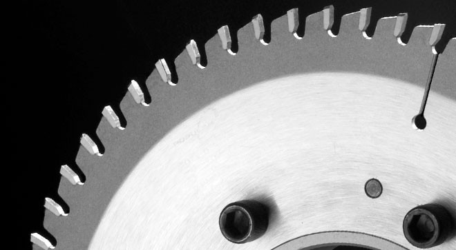 """POPULAR TOOLS 10""""x40T Chop Saw & Radial Saw Blade - $15.00 OFF Sharpening Coupons"""
