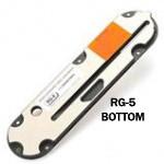 """#RG-5 Leecraft Zero-Clearance Table Saw Insert 15-1/8""""L x 3-3/4""""W x 1/8""""T w/RIVING KNIFE SLOT"""