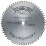 "SPECIAL Forrest 10"" x 48T Woodworker I - TCG Design Used by Mr. Sawdust for Cutting a Variety of Material"