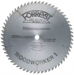 """WOODWORKER I Saw Blade - TCG Design, 1"""" HOLE - Used by Mr. Sawdust for Cutting a Variety of Material"""