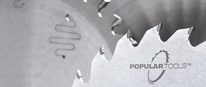 "Popular Tools 16"" x 100"" Non-Ferrous Cutting Saw Blade, 1"" Hole, .TCG Grind"
