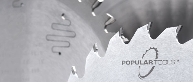 Popular Tools 180mm x 36T Non-Ferrous Saw Blade, 3.5mm Kerf, 20mm Hole, TCG Grind