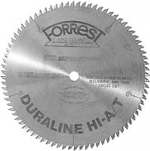 DURALINE HI-A/T Saw Blade, -5 Degree Hook for Streibig Vertical Panel Saw