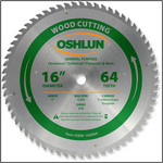 "16x64T Oshlun General Purpose Blade - 1"" Hole OUT OF STOCK"