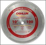 "Oshlun 10""x100T TCG, 5/8-Inch Hole for Aluminum & Non Ferrous Metals"