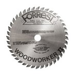 "4-3/8""x40T Woodworker II Saw Blade for Hand-held Makita Portable Saw #4200H - $15.00 OFF Sharpening Offer Included"
