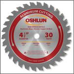 """Oshlun 4-1/2""""x30T TCG, 3/8"""" Arbor for Aluminum & Non Ferrous Metals"""