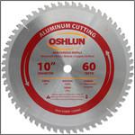 "Oshlun 10""x60T TCG, 5/8-Inch Hole for Aluminum & Non Ferrous Metals"