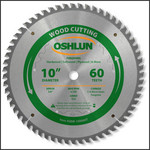"Oshlun 10""x60T Multi-Purpose TCG Saw Blade, 5/8"" Hole"