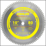 "Oshlun 10""x80 Tooth HI-ATB Saw Blade with 5/8-Inch Hole for Melamine & Laminates"