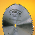 "Forrest 12""x80T CHOPMASTER Saw Blade with 1"" HOLE  - $15.00 OFF Sharpening Offer Included"