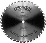 "10""x40T Custom WW II #1 Grind for SQUARE (Flat Bottom) CUT, Box Joints THIN KERF - $15.00 OFF Sharpening Offer Included"
