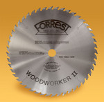 "10""x48TWoodworker II For Even Cleaner Cross Cuts - THIN Kerf - Dampener/Stiffener HIGHLY RECOMMENDED - OUT OF STOCK"
