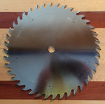 "Popular Tools 10"" x 40T Premium Combination Blade, ATB .126"" Kerf"