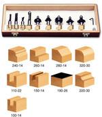 11-Piece Starter Set - 1/2 Inch Shank by Timberline
