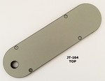 "#JT-164 Leecraft Zero-Clearance Table Saw Insert 12-1/2"" x 3-9/16"""