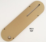 "#RG-3 Leecraft Zero-Clearance Insert WITH RIVING KNIFE SLOT 14""L x 3-3/4""W"