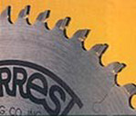 "12""x60 Tooth Forrest Concave Hollow Face Saw Blade"