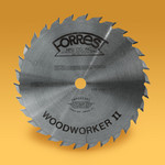 """7-1/4""""x30T Woodworker II Saw Blade - Diamond knock out included - $15.00 OFF Sharpening Offer Included"""